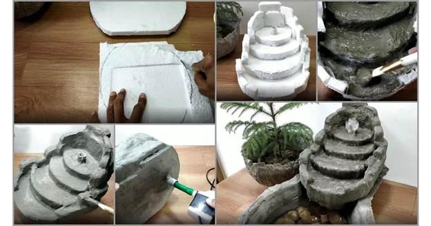 7-DIY-Cement-Water-Fountain-For-Indoor