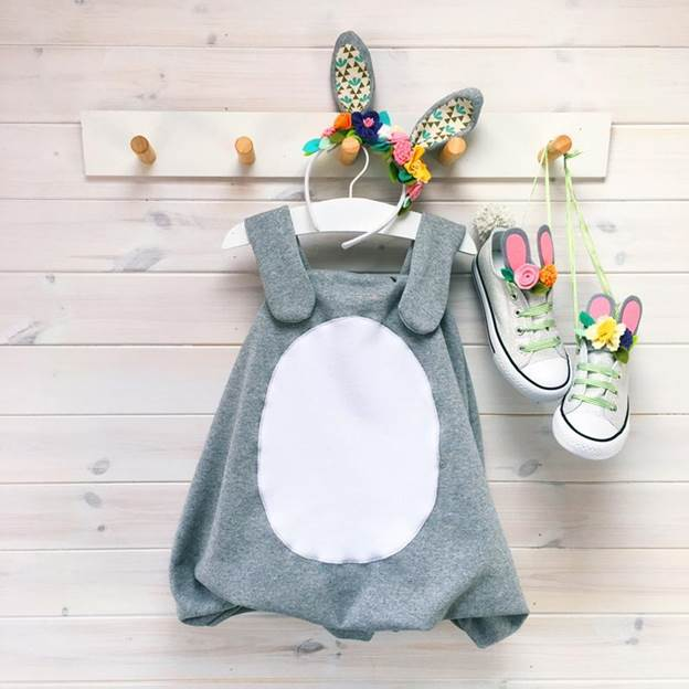 7. DIY Easter Bunny Costume