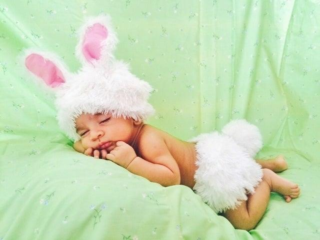 8. DIY Bunny Costume For Toddler