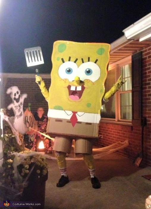8. DIY Spongebob Costume