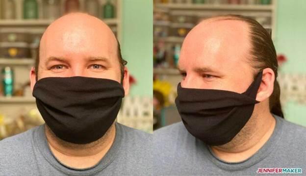 9-DIY-No-Sew-Face-Mask-From-T-Shirt