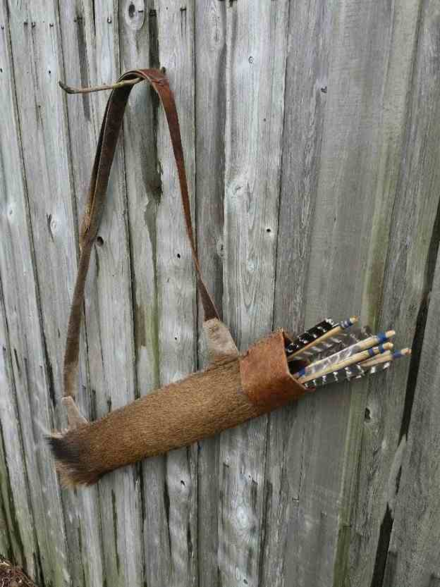 9. DIY Primitive Arrow Quiver