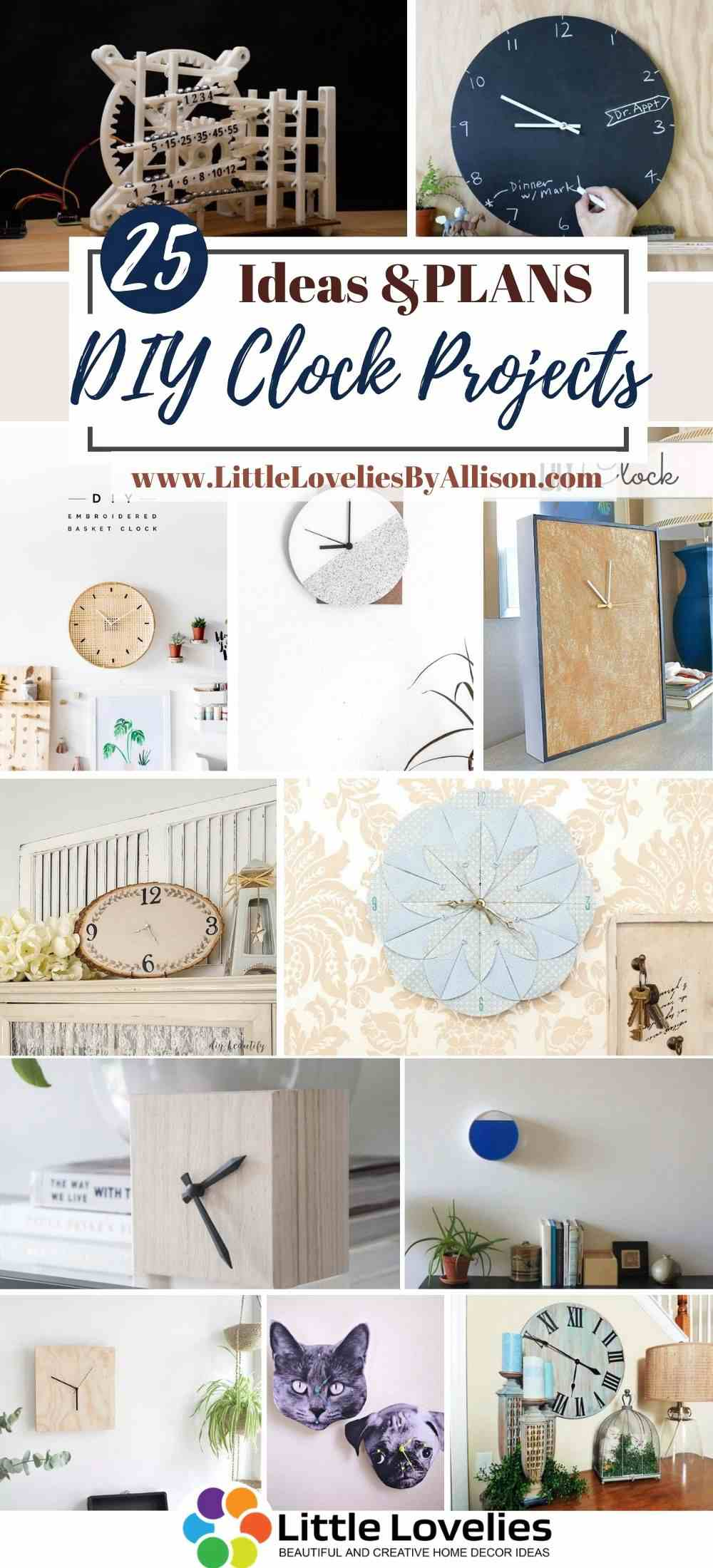 Best-DIY-Clock-Projects