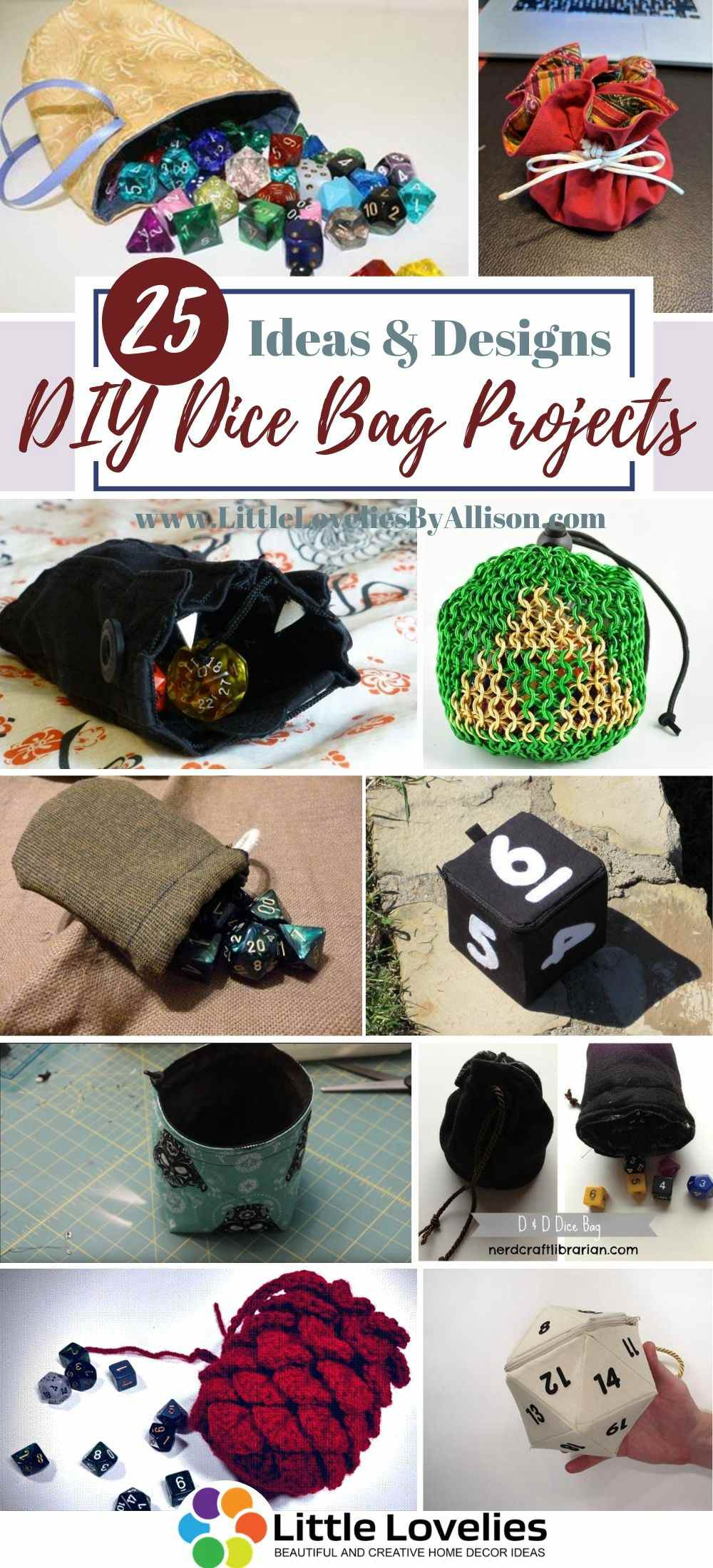Best-DIY-Dice-Bag Projects