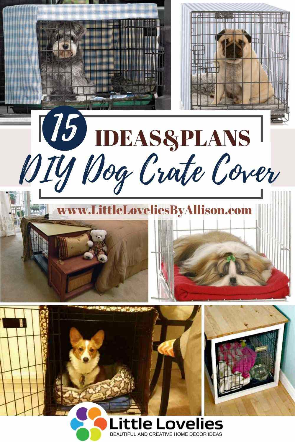 Best-DIY-Dog-Crate-Cover
