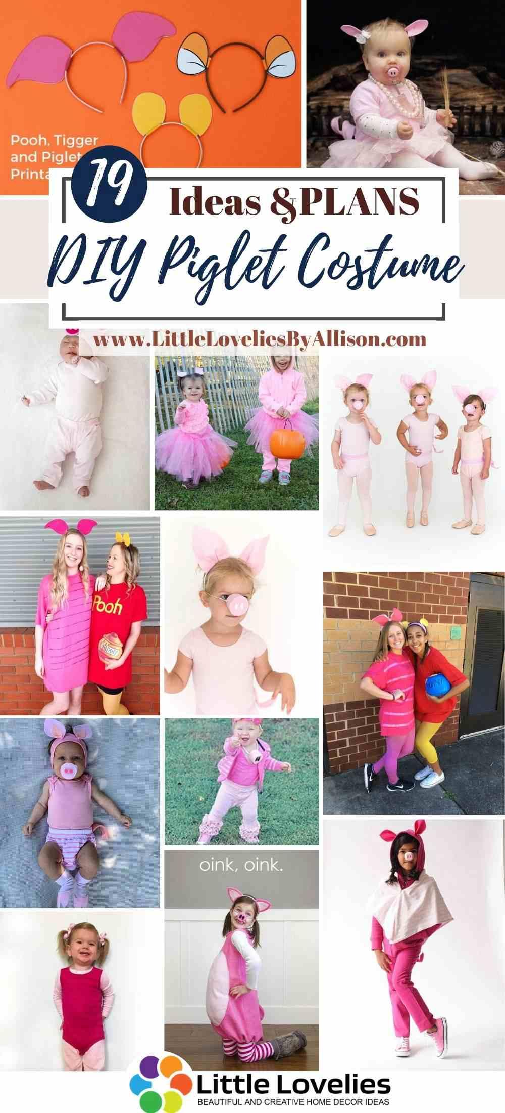 Best-DIY-Piglet-Costume