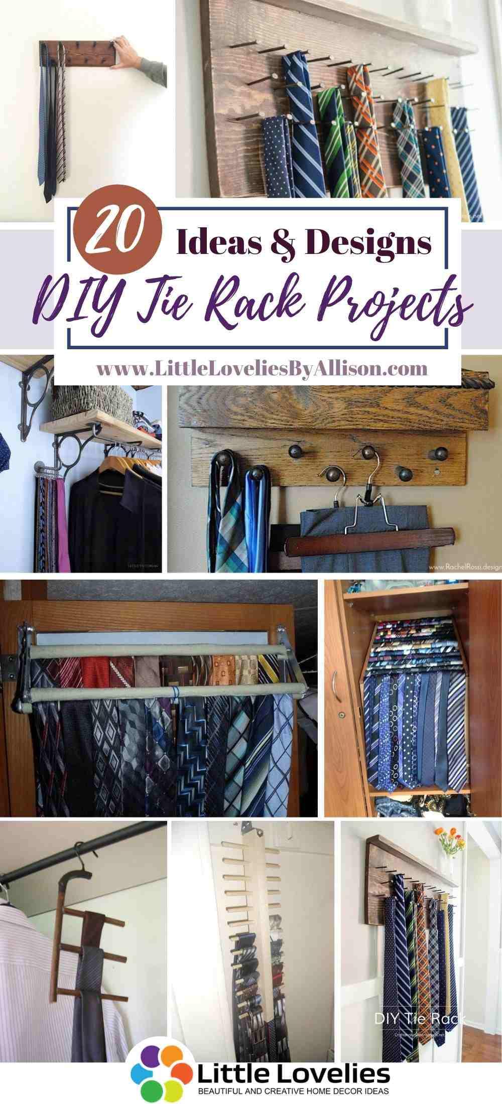 Best-DIY-Tie-Rack-Projects