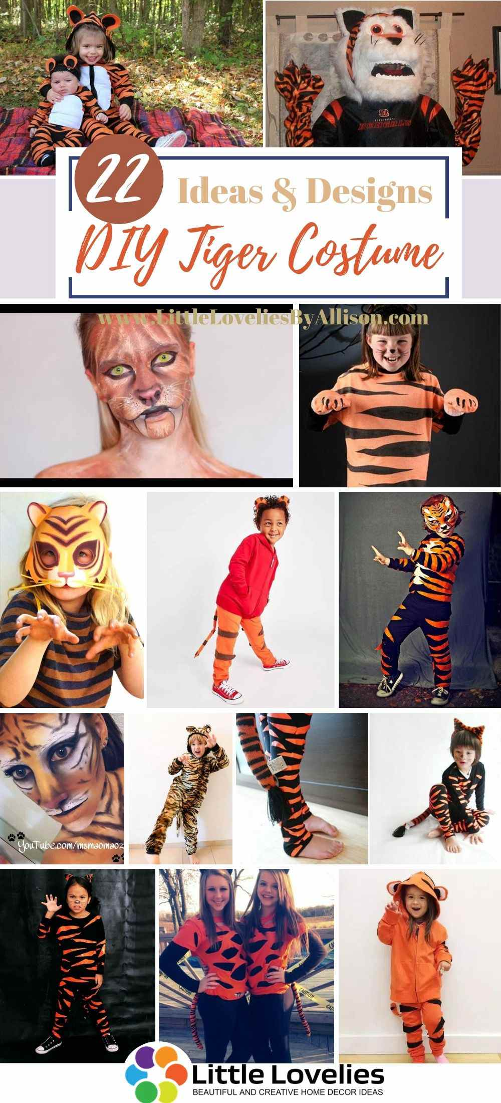Best-DIY-Tiger-Costume-Projects