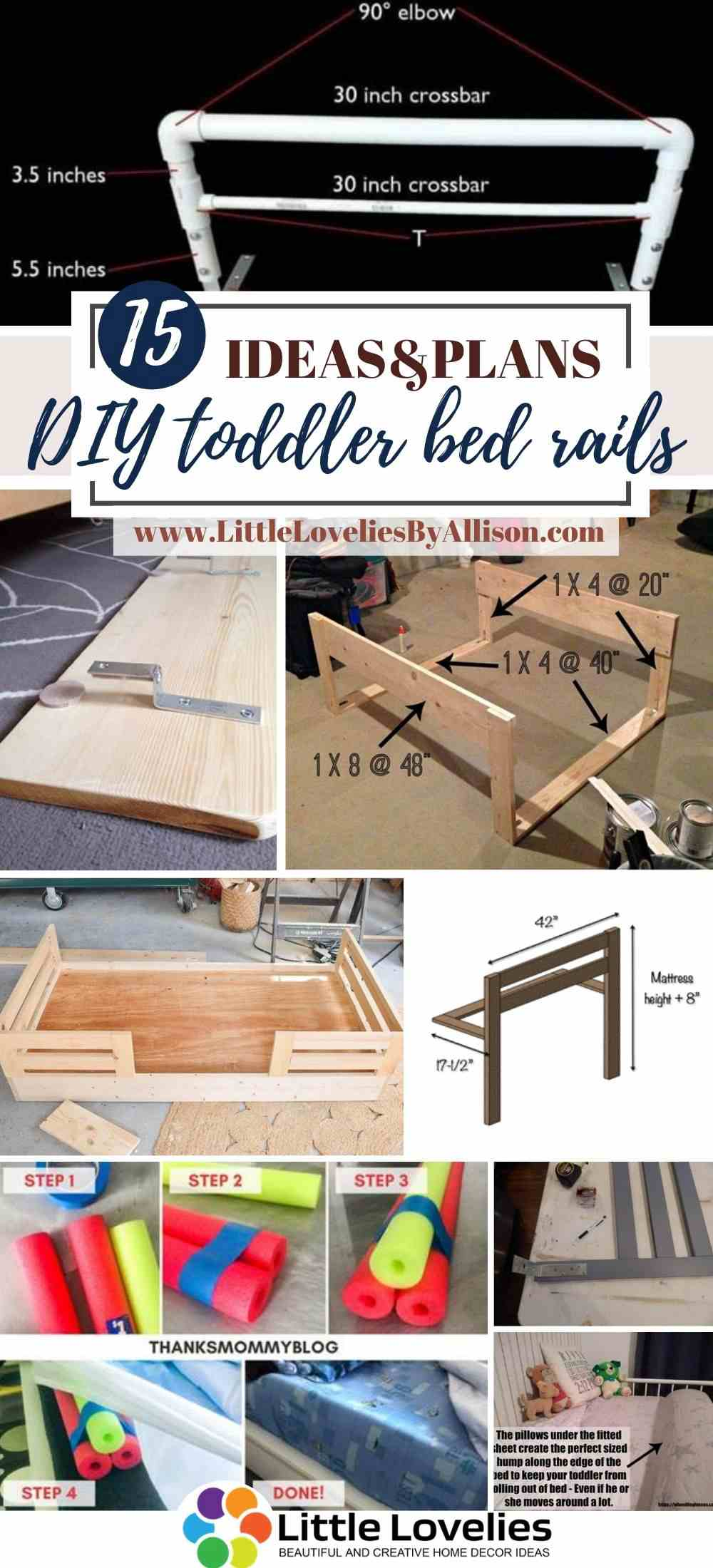 15 Diy Toddler Bed Rail Plans How To Build Toddler Bed Rails