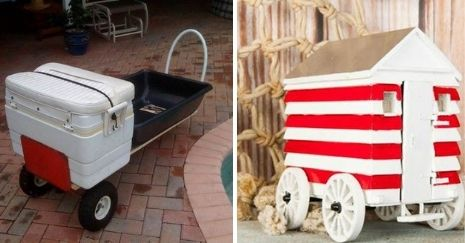 DIY-Beach-Cart-Projects