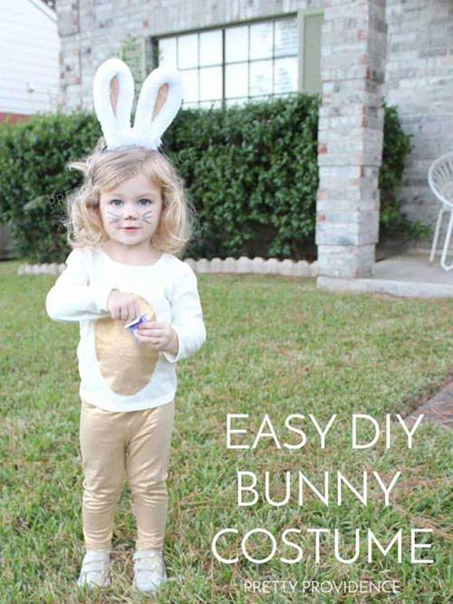 DIY Bunny Costume Projects
