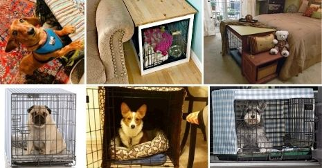 DIY-Dog-Crate-Cover
