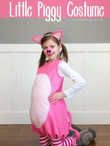 DIY Piglet Costume Ideas
