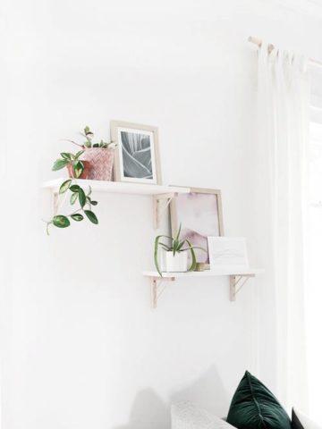 DIY Shelf Brackets