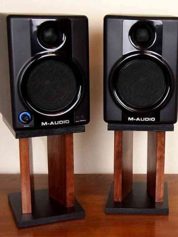 DIY Speaker Stand