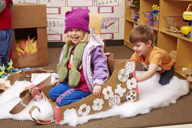 11-DIY-Play-Cardboard-Sled