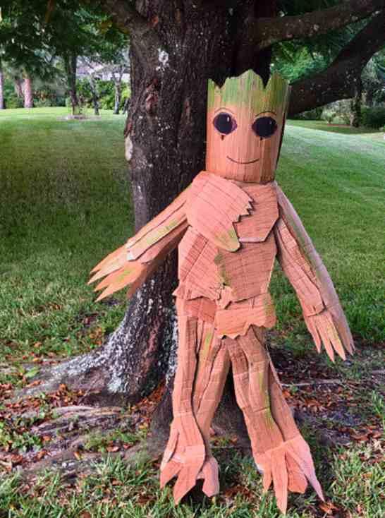 16-Cardboard-Groot-Costume