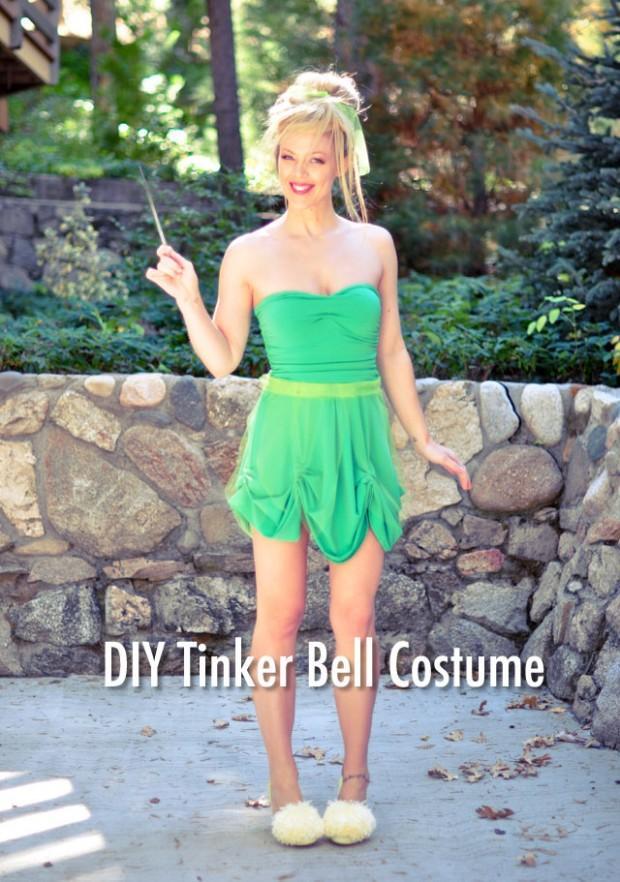 18-DIY-Tinkerbell-Costume-And-Makeup
