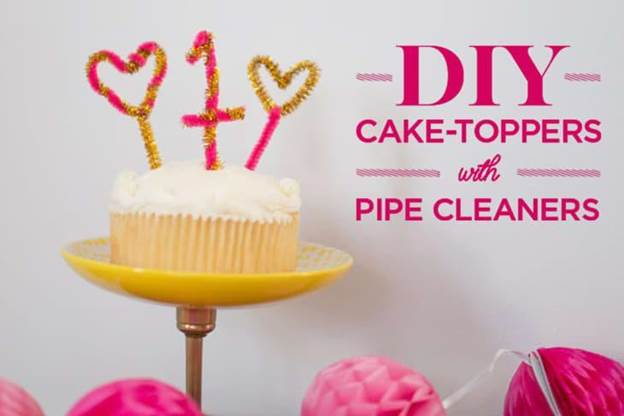 2-DIY-Cake-Toppers-With-Pipe-Cleaners