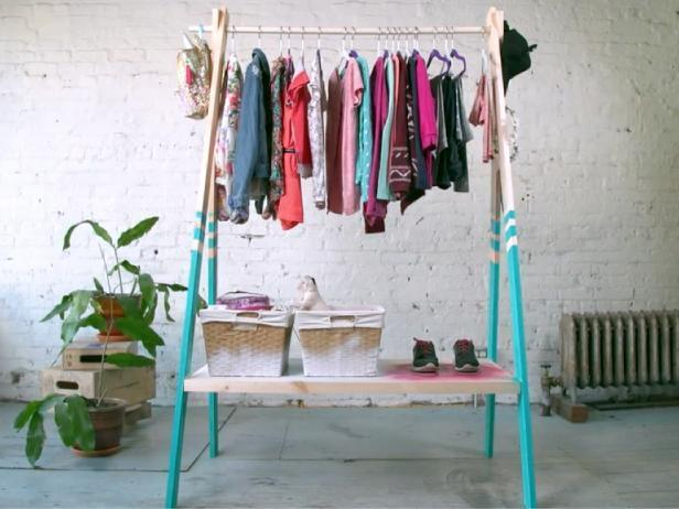 3-DIY-A-Frame-Clothing-Rack