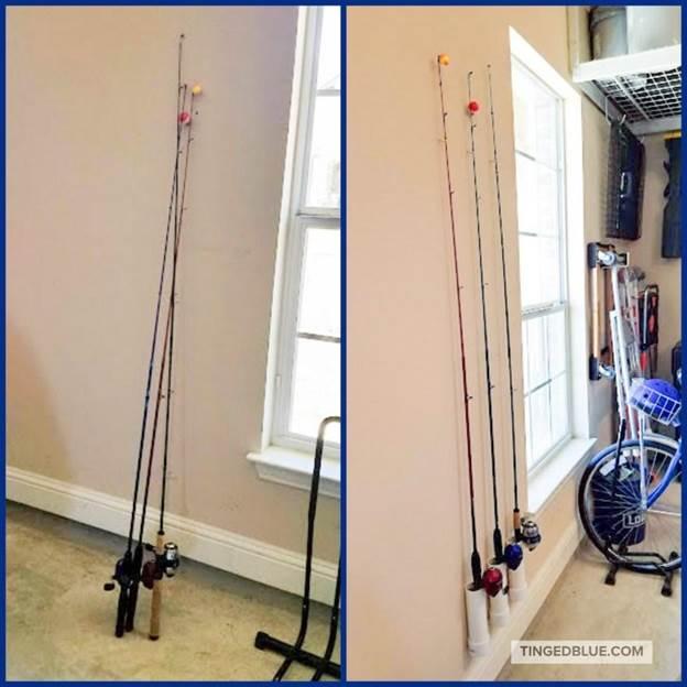 3-DIY-Fishing-Rod-Holder-For-Garage