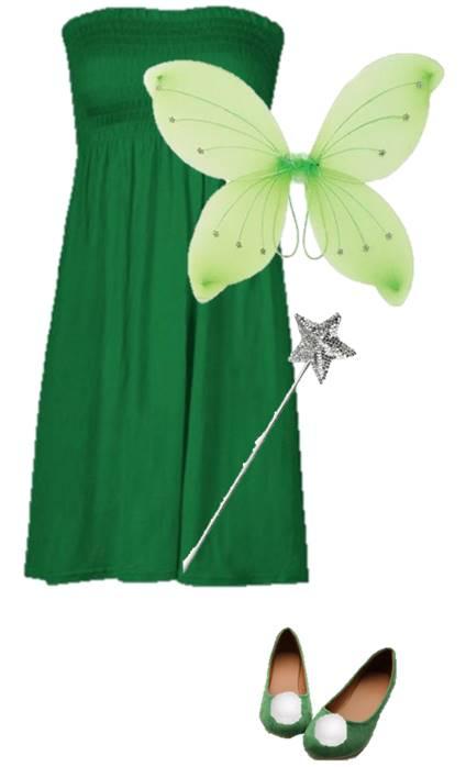 3-DIY-Tinkerbell-Costume