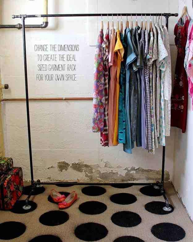 8-DIY-Heavy-Duty-Clothes-Rack