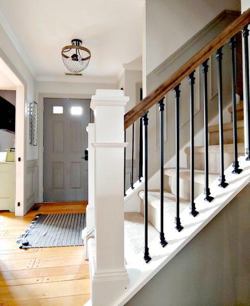 9-DIY-Stair-Railing-Makeover