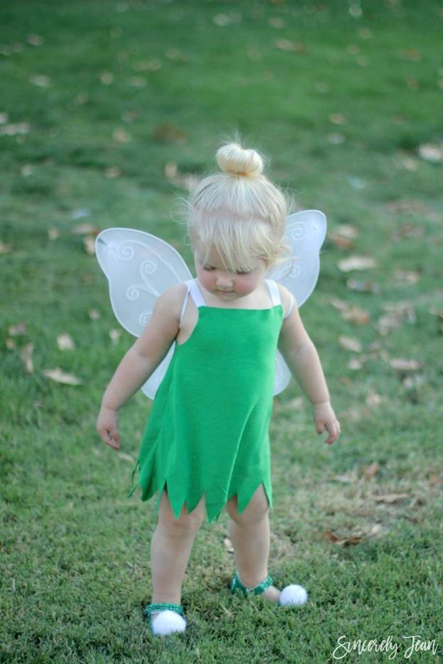9-DIY-Toddler-Tinkerbell-Costume-And-Hair