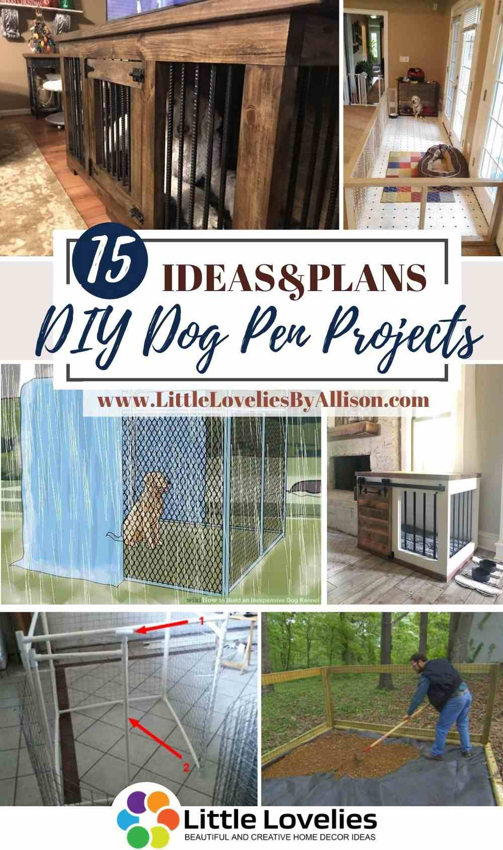 Best-DIY-Dog-Pen-Projects