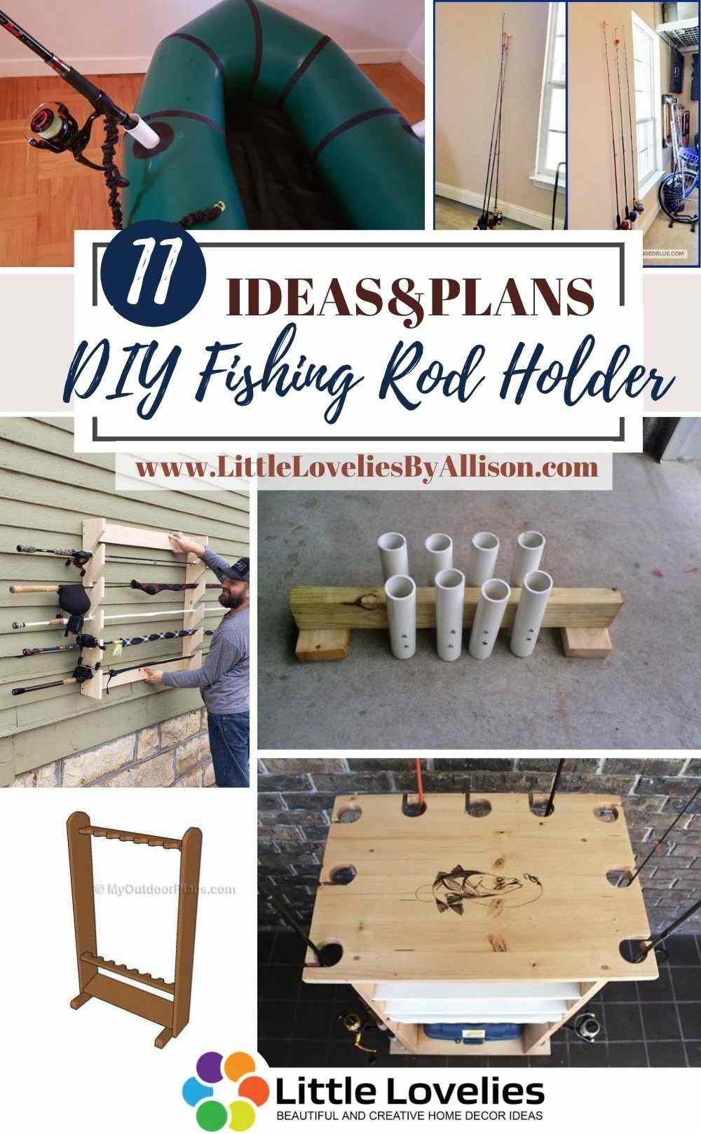 Best-DIY-Fishing-Rod-Holder