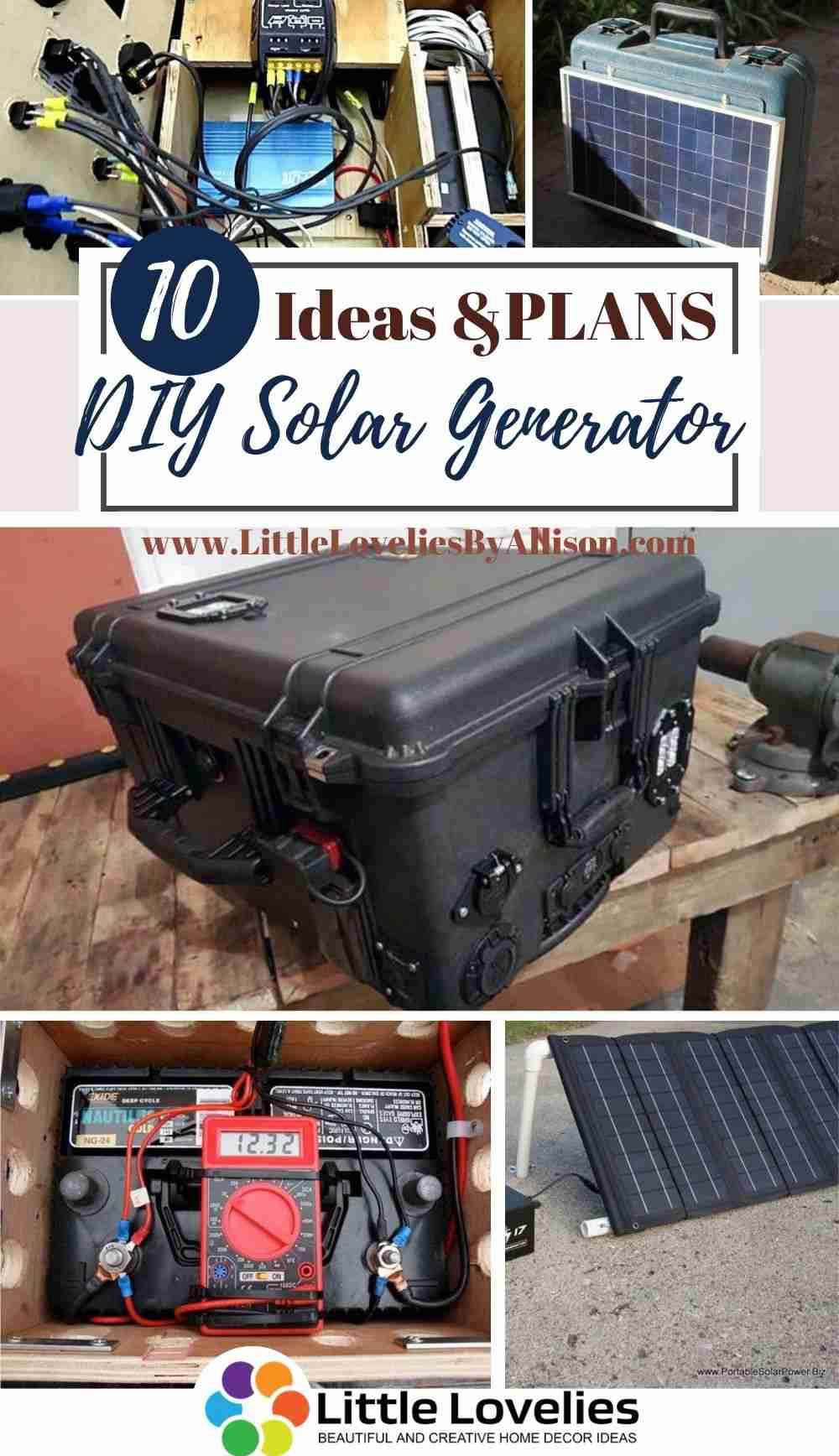 Best-DIY-Solar-Generator-Projects