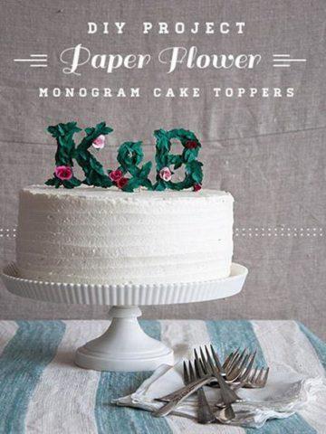 DIY Cake Topper Ideas