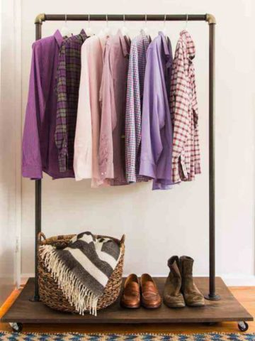DIY Clothing Rack Projects