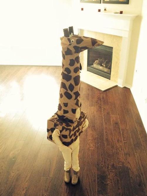 DIY Giraffe Costume Ideas