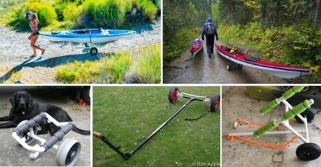 DIY-Kayak-Cart