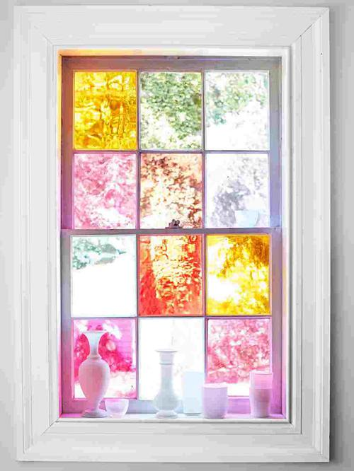 DIY Stained Glass Methods