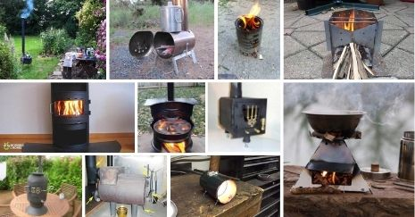 DIY-Wood-Stove-Projects