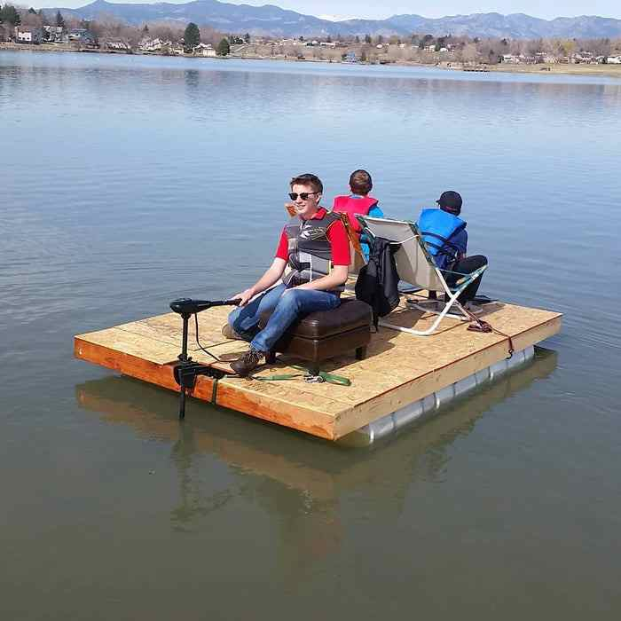 1-Homemade-Pontoon-Boat