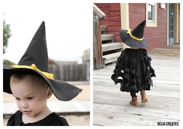 1. How To Make A Witch Hat With Fabric
