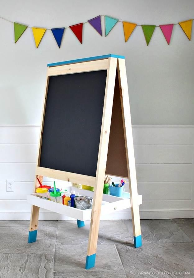10-DIY-Easel-For-Kids