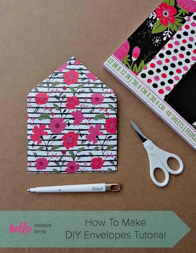 10-DIY-Floral-Envelop