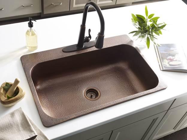 10. DIY Kitchen Sink Installation