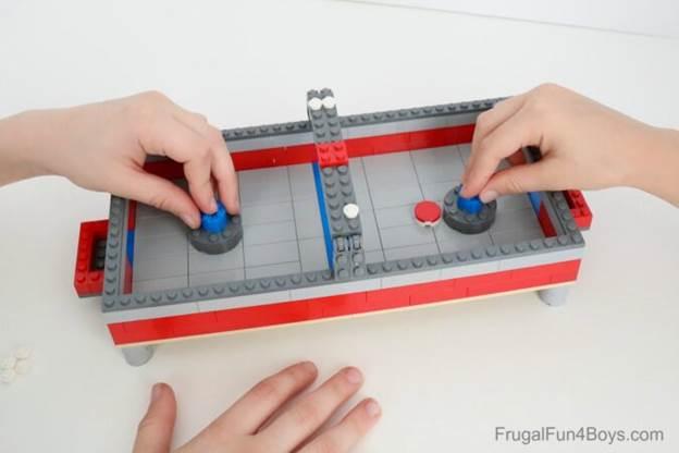 11. How To Build A Lego Air Hockey Table