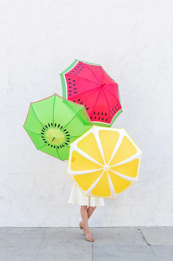 12. Fruit Slice Umbrella
