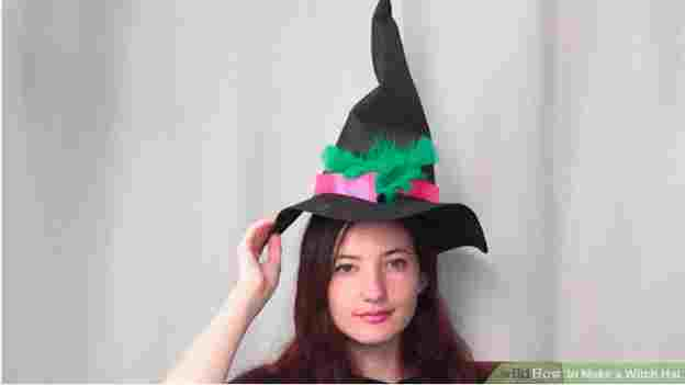 13. How To Make A Witch Hat
