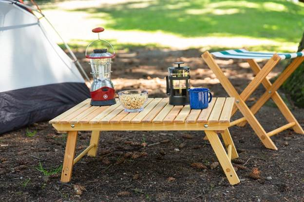 13. How to Make a Folding Camping Table