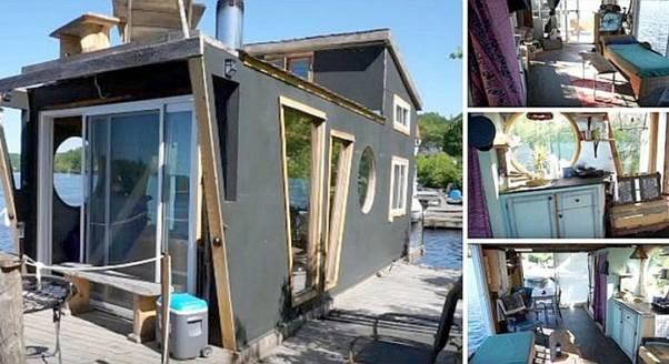 13. Pro-Level Houseboat