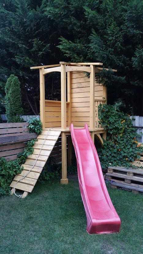 14-DIY-Outdoor-Slide