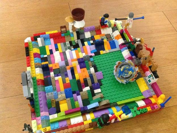 14. How To Make A Beyblade Stadium With Legos